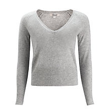 Buy Somerset by Alice Temperley Cashmere Jumper, Grey Marl Online at johnlewis.com