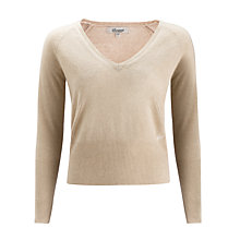 Buy Somerset by Alice Temperley Cashmere Jumper, Brown Sugar Online at johnlewis.com