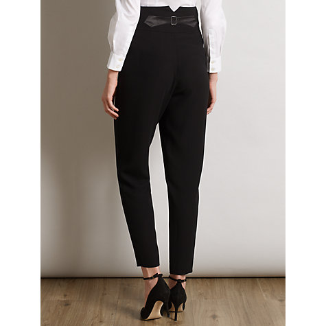 Buy Somerset by Alice Temperley Tapered Leg Trousers, Black Online at johnlewis.com