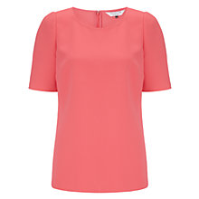 Buy COLLECTION by John Lewis Danielle Crepe Top, Watermelon Online at johnlewis.com