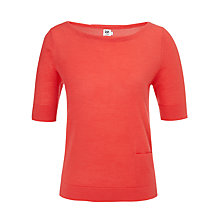 Buy Kin by John Lewis Slash Neck Merino Top Online at johnlewis.com