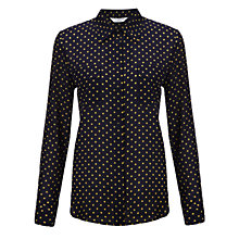 Buy COLLECTION by John Lewis Lauren Utility Blouse, Navy/Multi Online at johnlewis.com
