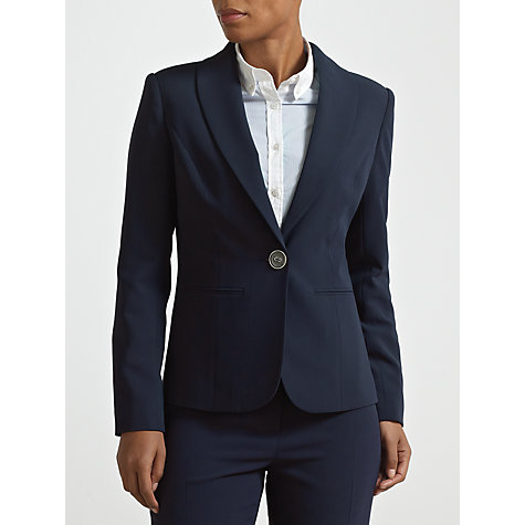Buy COLLECTION by John Lewis Elle Tailored Jacket, Navy Online at johnlewis.com