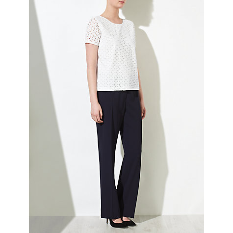 Buy COLLECTION by John Lewis Georgette Broderie Top Online at johnlewis.com