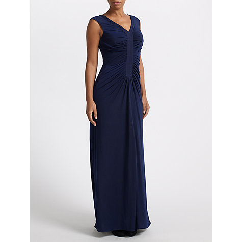 Buy John Lewis Lina Jersey Dress, Midnight Online at johnlewis.com