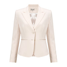 Buy Somerset by Alice Temperley Single Breasted Jacket, Cream Online at johnlewis.com