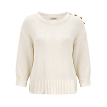 Buy Somerset by Alice Temperley Chunky Tweed Knitted Jumper Online at johnlewis.com