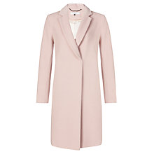 Buy COLLECTION by John Lewis Chelsea Crombie Coat, Pink Online at johnlewis.com