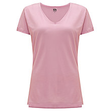 Buy Kin by John Lewis Curved V-Neck T-Shirt Online at johnlewis.com