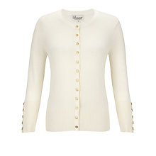 Buy Somerset by Alice Temperley Button Detailed Cardigan, Cream Online at johnlewis.com