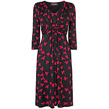 Buy Phase Eight Clover Leaf Dress, Red/Black Online at johnlewis.com
