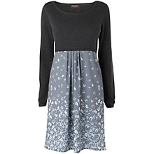 Buy Phase Eight Livia Leaf Dress, Charcoal Online at johnlewis.com