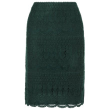 Buy Phase Eight Forest Tallulah Lace Skirt, Forest Online at johnlewis.com