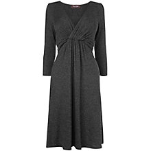 Buy Phase Eight Caryn Twist Dress, Charcoal Marl Online at johnlewis.com