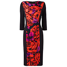 Buy Phase Eight Raquel Illusion Dress, Black Online at johnlewis.com
