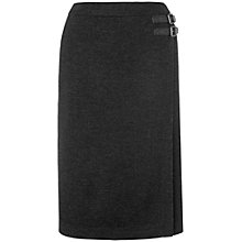 Buy Phase Eight Faith Wrap Skirt, Charcoal Online at johnlewis.com