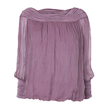 Buy Phase Eight Gypsy Blouse, Purple Online at johnlewis.com
