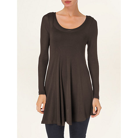 Buy Phase Eight Joplin Top, Chocolate Online at johnlewis.com