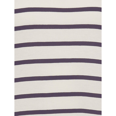Buy Phase Eight Doris Stripe Top, Antique/Mole Online at johnlewis.com