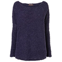 Buy Phase Eight Bobbie Bouclé Jumper, Navy Online at johnlewis.com