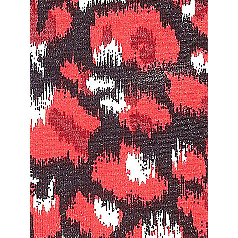 Buy Precis Petite Animal Print Top, Red Online at johnlewis.com