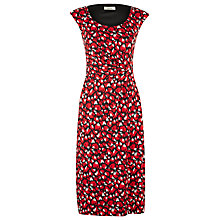 Buy Precis Petite Blurred Animal Dress, Red Online at johnlewis.com