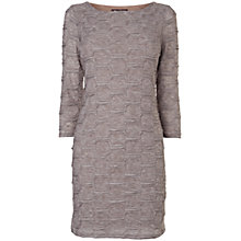 Buy Phase Eight Textured Bubble Tunic Top, Oatmeal Online at johnlewis.com