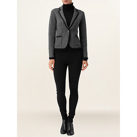 Buy Phase Eight Taylor Blazer, Charcoal Online at johnlewis.com