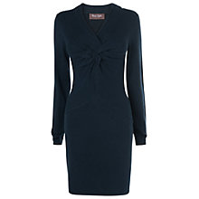 Buy Phase Eight Winnie Weave Tunic Top, Navy Online at johnlewis.com