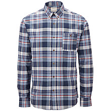 Buy Selected Homme Cabby Check Shirt, Blue Online at johnlewis.com