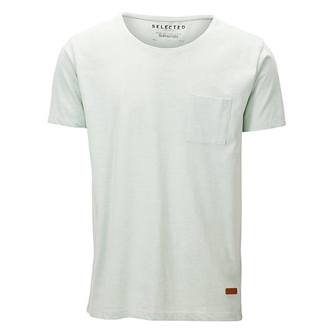 Buy Selected Homme Dave O Neck T-Shirt Online at johnlewis.com