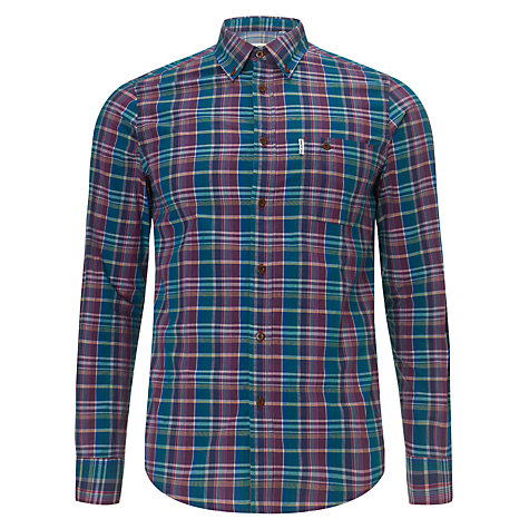 Buy Ben Sherman Two Finger Check Shirt Online at johnlewis.com