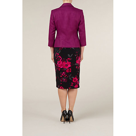 Buy Precis Petite Textured Jacket, Red Online at johnlewis.com