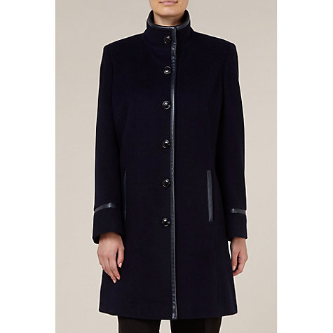 Buy Windsmoor City Coat, Navy Online at johnlewis.com