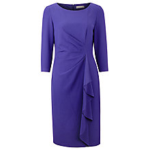 Buy Planet Ruffle Dress, Purple Online at johnlewis.com