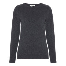 Buy Whistles Lily Cashmere Jumper, Dark Grey Online at johnlewis.com