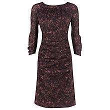 Buy Kaliko Tweed Print Ruched Dress Online at johnlewis.com
