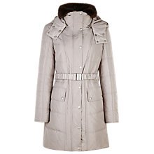 Buy Planet Belted Champagne Coat, Neutral Online at johnlewis.com