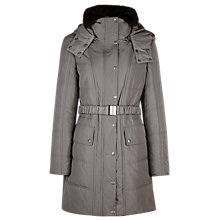 Buy Planet Belted Coat, Brown Online at johnlewis.com