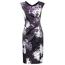 Buy Planet Floral Print Dress, Charcoal Online at johnlewis.com