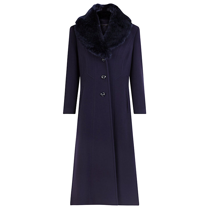 This fur collared number from Jaques Vert (£249) comes in a few colours 221dd7ed171e4