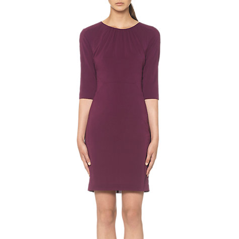 Buy Whistles Adelise Paloma Dress, Purple Online at johnlewis.com