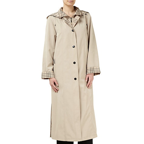 Buy Jacques Vert Full Length Mac, Neutral Online at johnlewis.com
