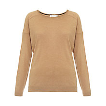 Buy Whistles Elsa Silk Mix Boxy Jumper Online at johnlewis.com