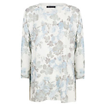 Buy Mango Floral Sweater, White Online at johnlewis.com