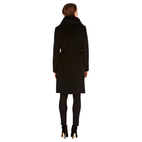 Buy Coast Luxe Coat, Black Online at johnlewis.com