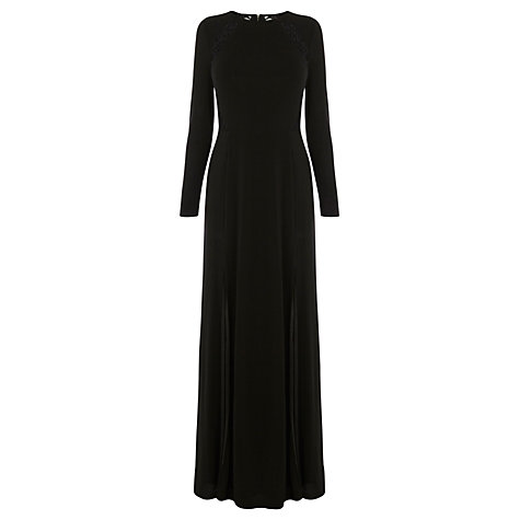Buy Coast Lani-May Maxi Dress, Black Online at johnlewis.com