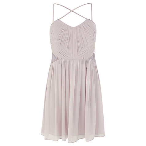 Buy Coast Dazzle Dress, Grey Online at johnlewis.com