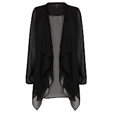 Buy Coast Monique Jacket, Black Online at johnlewis.com