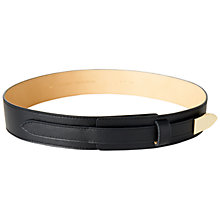 Buy Jaeger Icon Belt, Black Online at johnlewis.com